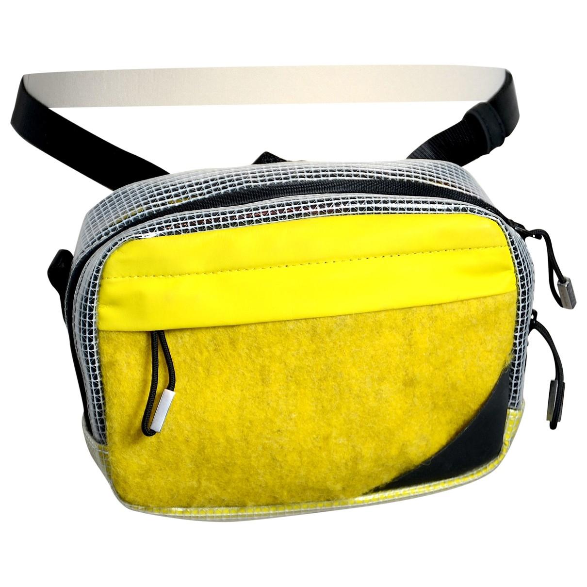 Acne Studios - Pochette   pour femme en laine - jaune