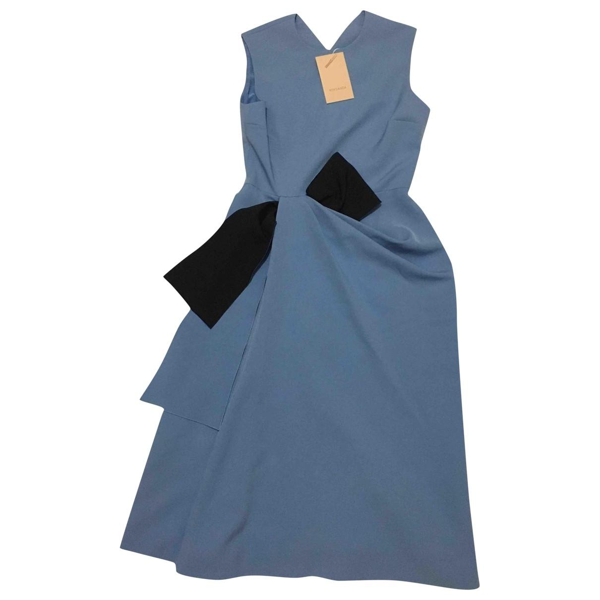 Roksanda \N Kleid in  Blau Polyester