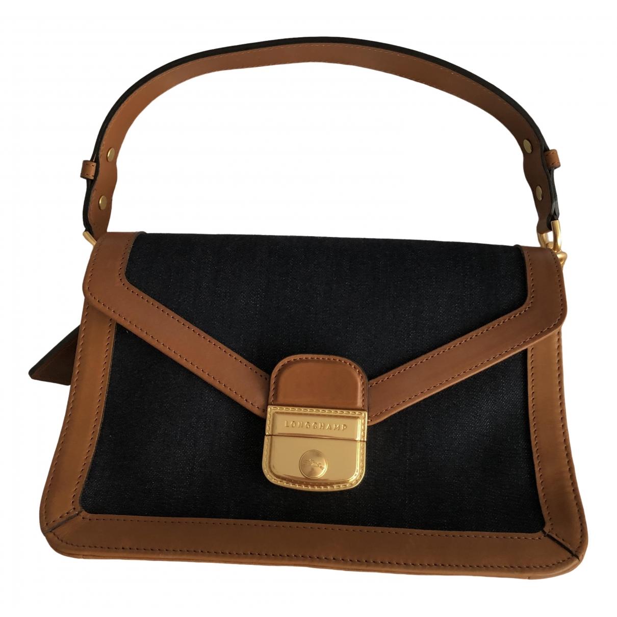 Longchamp Mademoiselle Brown Leather handbag for Women \N