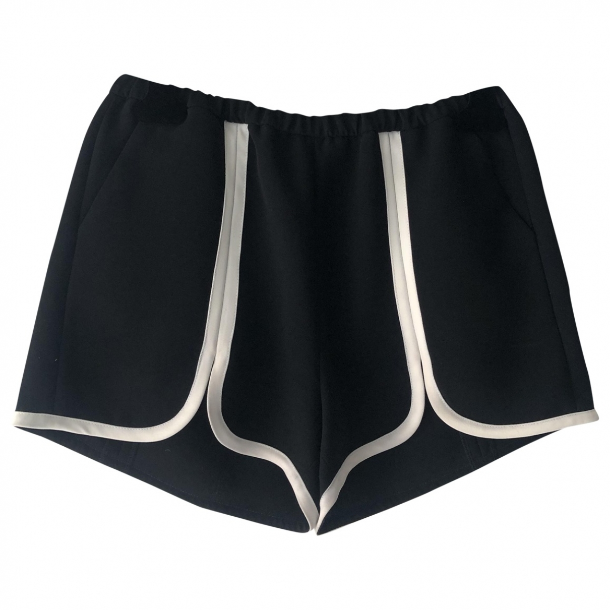 American Retro \N Shorts in  Schwarz Polyester