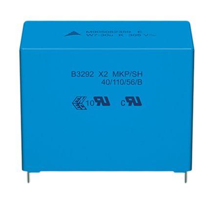EPCOS 100nF Polypropylene Capacitor PP 305 V ac, 630 V dc ±20% Tolerance B32921C Series (10)