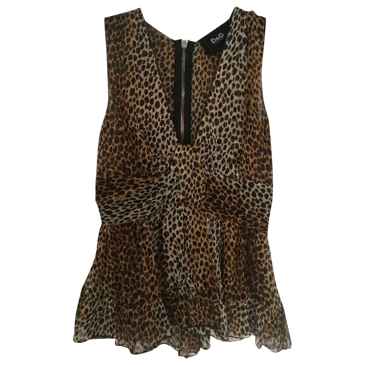 D&g \N Silk  top for Women XS International