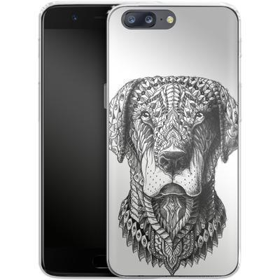 OnePlus 5 Silikon Handyhuelle - Labrador von BIOWORKZ