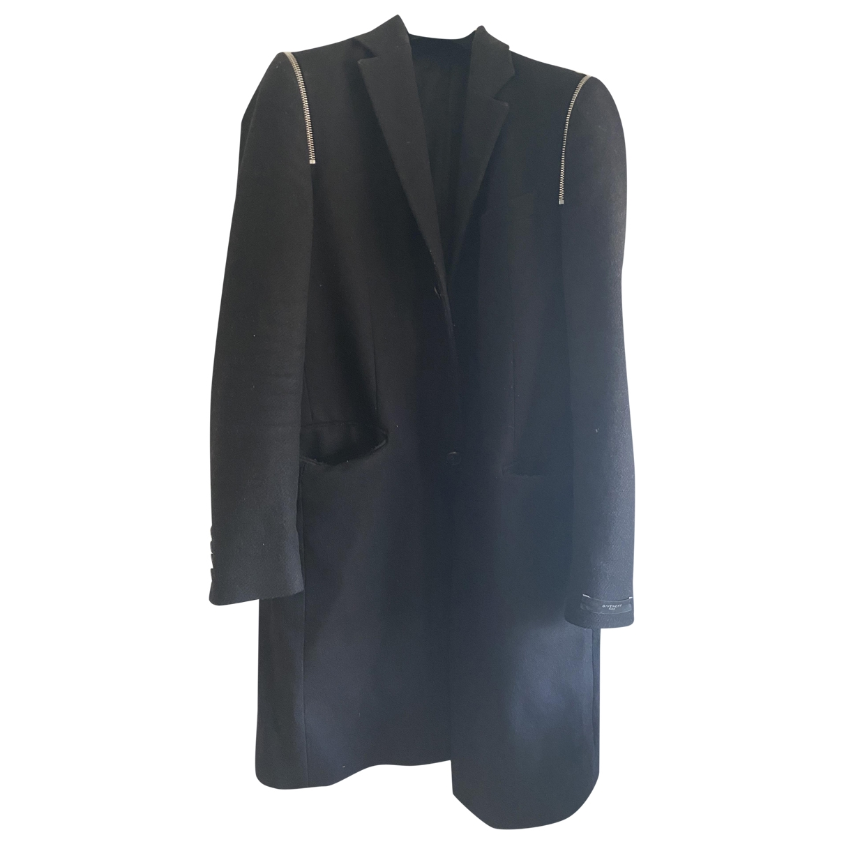 Givenchy \N Black Cotton coat  for Men 48 FR