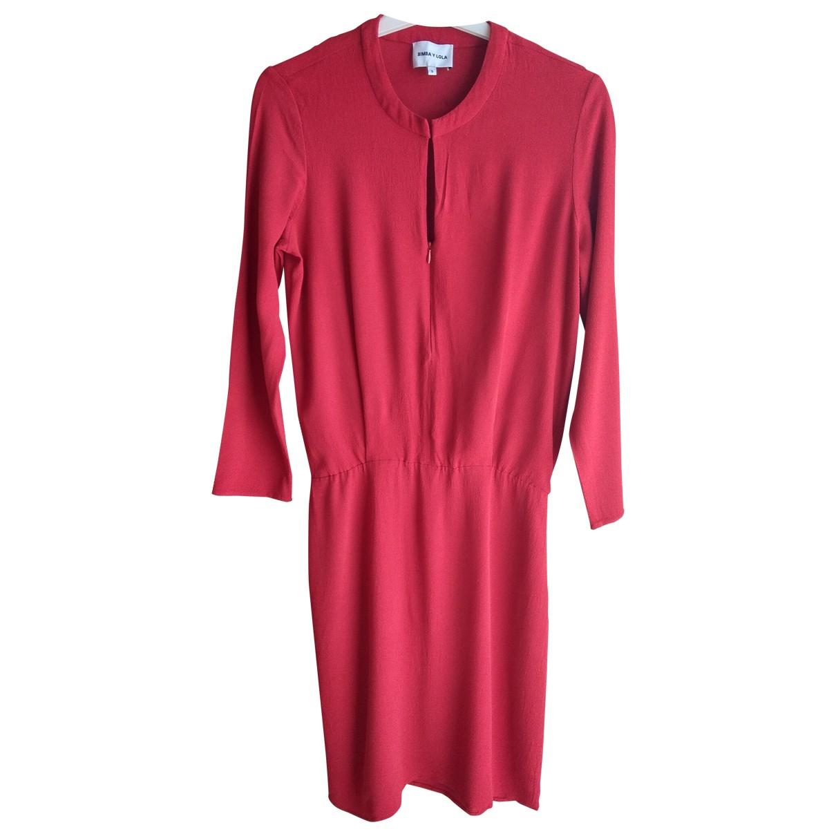 Bimba Y Lola \N Red dress for Women S International