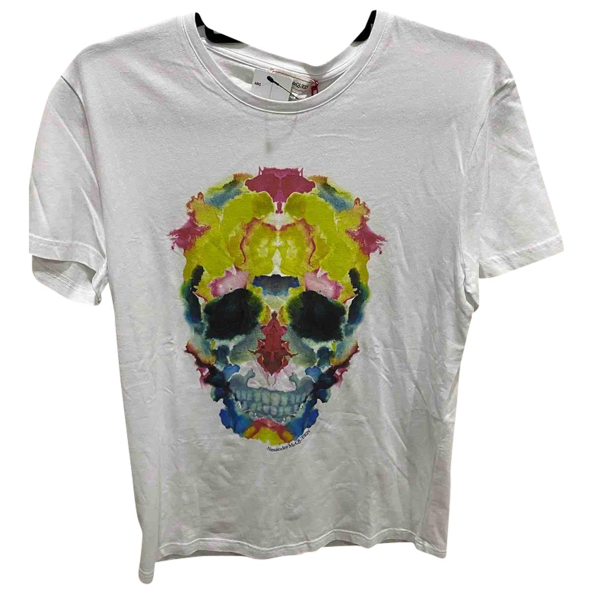 Alexander Mcqueen \N White Cotton T-shirts for Men S International