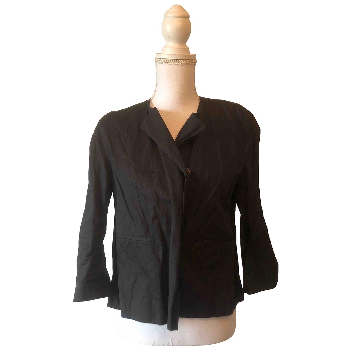 Dondup - Veste   pour femme en coton - noir
