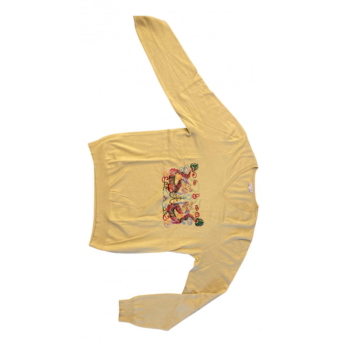 Parosh - Pulls.Gilets.Sweats   pour homme en cachemire - jaune