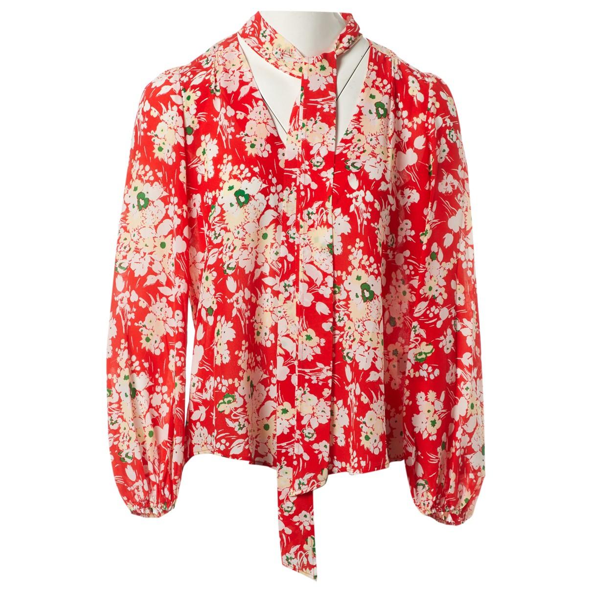 Rixo \N Red Silk  top for Women M International