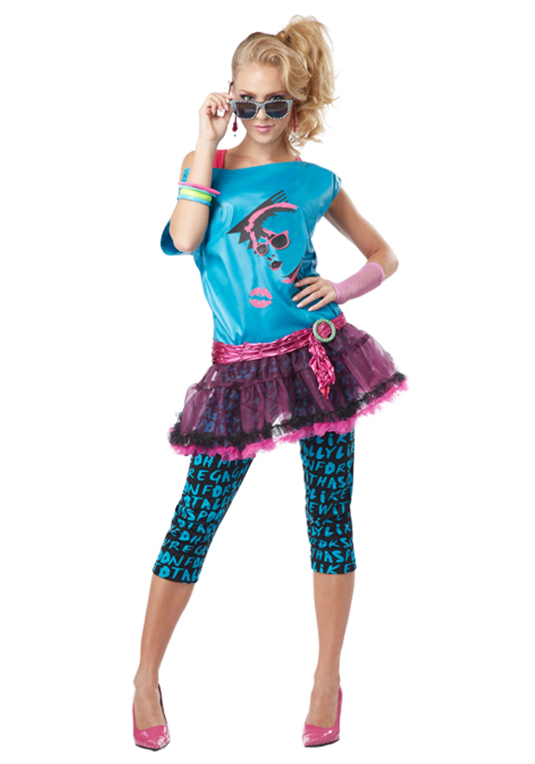 80s Valley Girl Adult Costume
