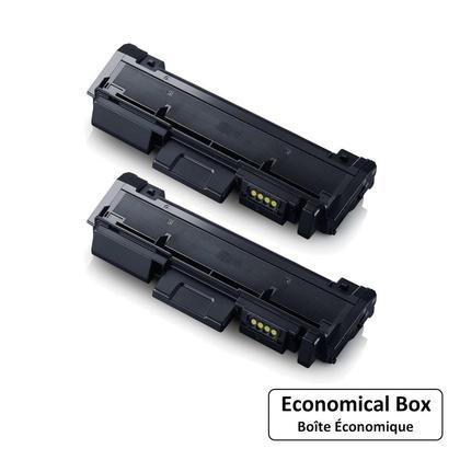 compatible Samsung MLT-D116L cartouche de toner noire - boite economique - 2/paquet