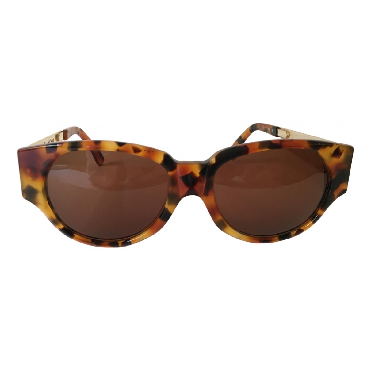 Claude Montana \N Brown Sunglasses for Women \N