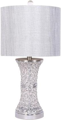 Payton Collection PY942 Table Lamp with 1 Light and On and Off Switch Type in Gray