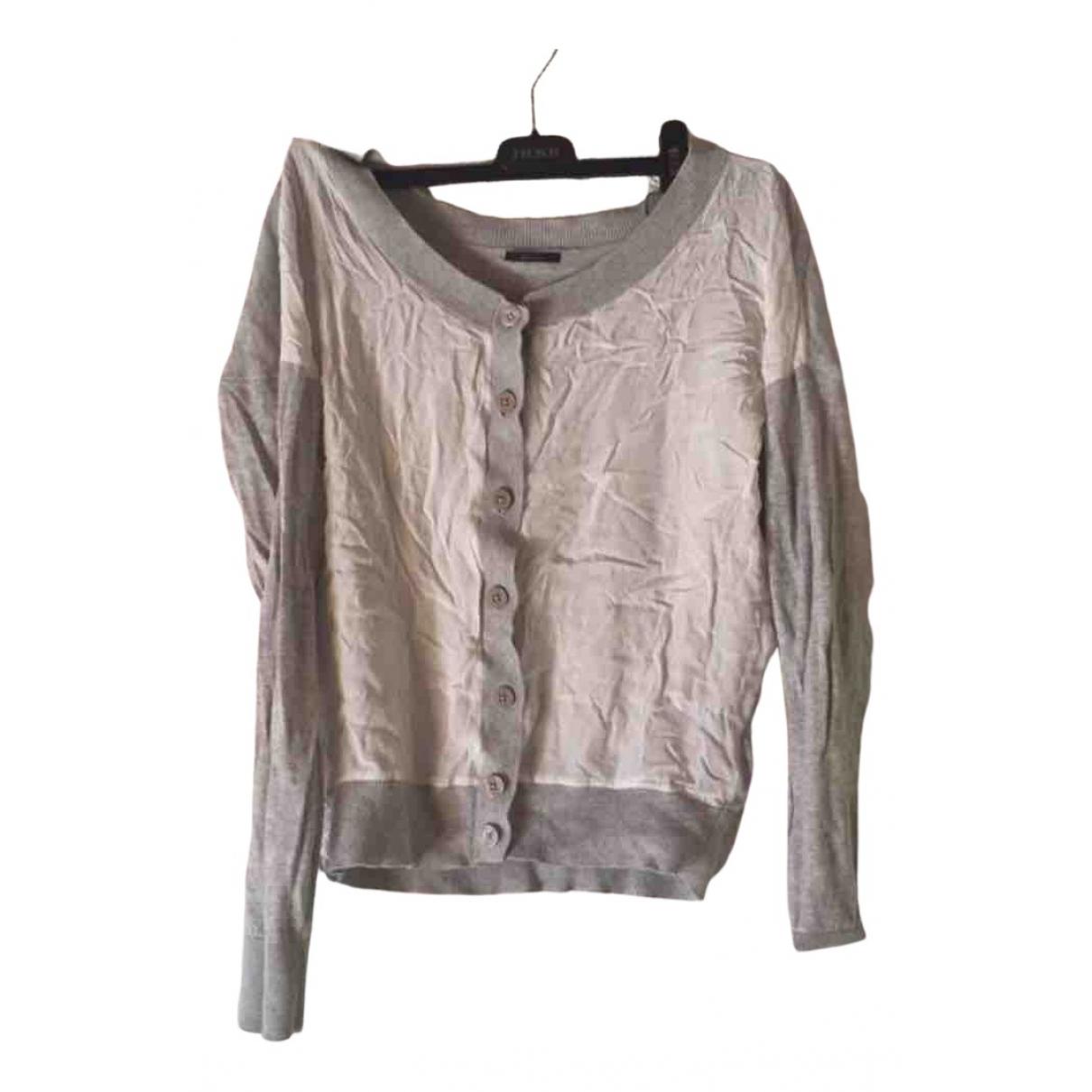 Ikks N Grey Cotton Knitwear for Women S International