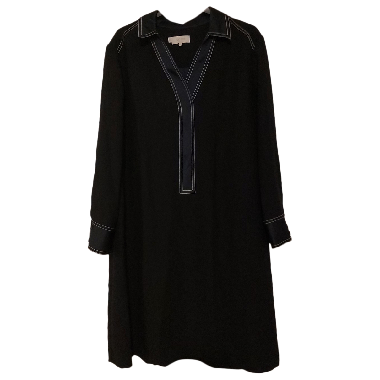 Hobbs \N Kleid in  Marine Polyester