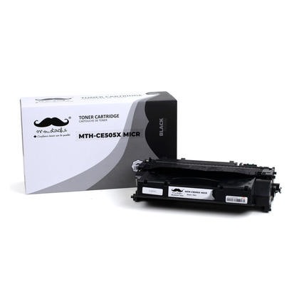 Compatible HP 05X CE505X MICR Black Toner Cartridge - Moustache®