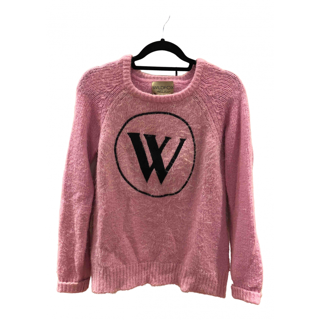 Wildfox \N Pullover in  Rosa Synthetik