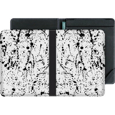 tolino vision 3 HD eBook Reader Huelle - Splatter Black von Amy Sia