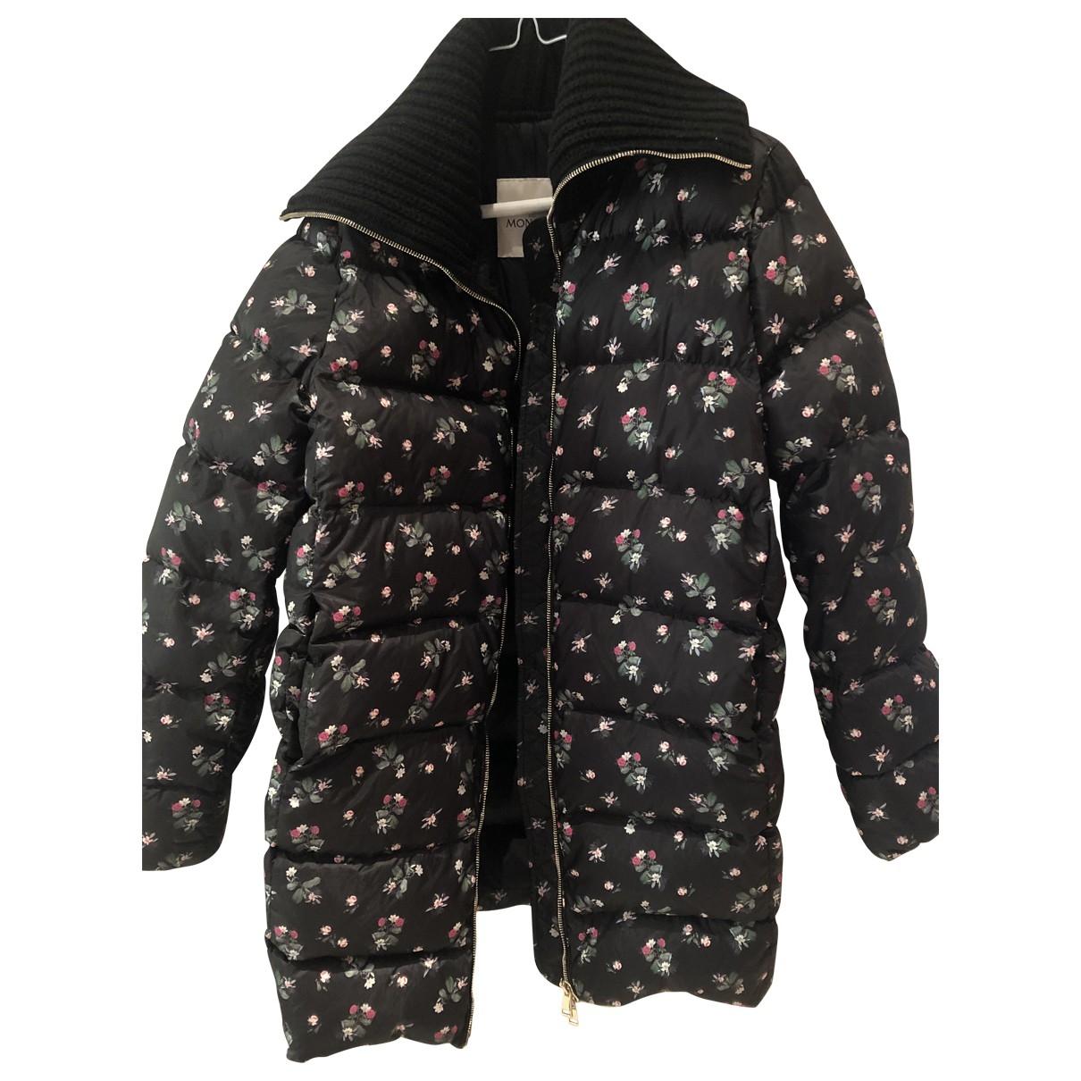 Moncler - Manteau Print pour femme - noir