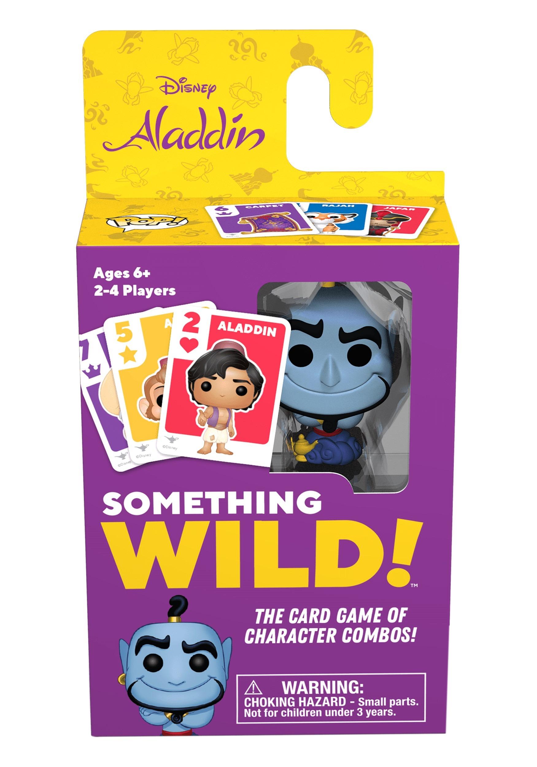 Signature Games: Aladdin - Something Wild Card Game