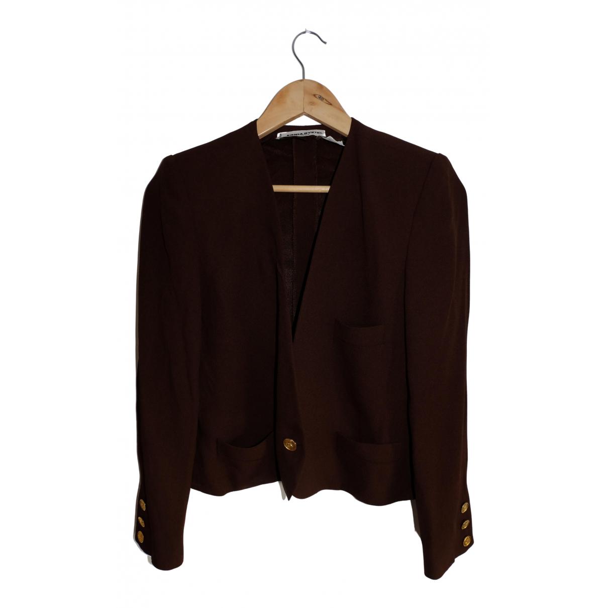 Sonia Rykiel N Brown jacket for Women 40 FR