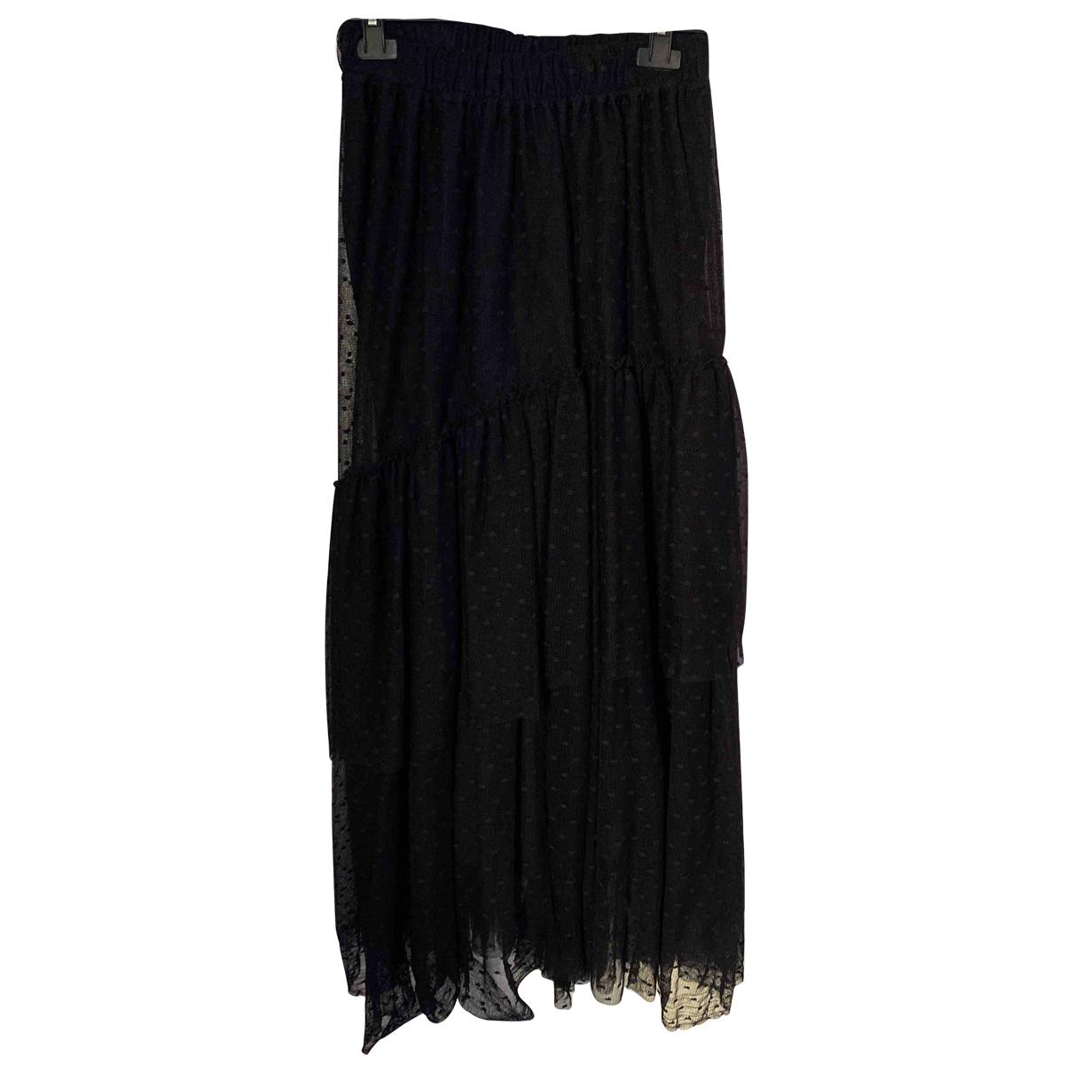 Twin Set N Black skirt for Women 40 IT