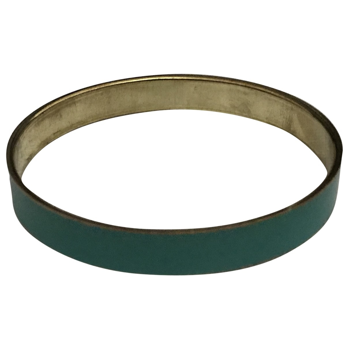 Non Signé / Unsigned Jonc Turquoise Metal bracelet for Women \N