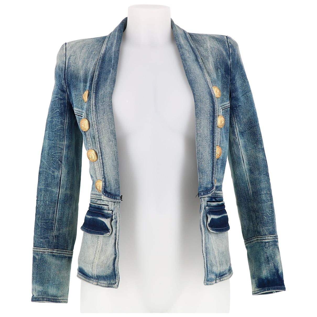 Dior \N Jacke in  Blau Denim - Jeans
