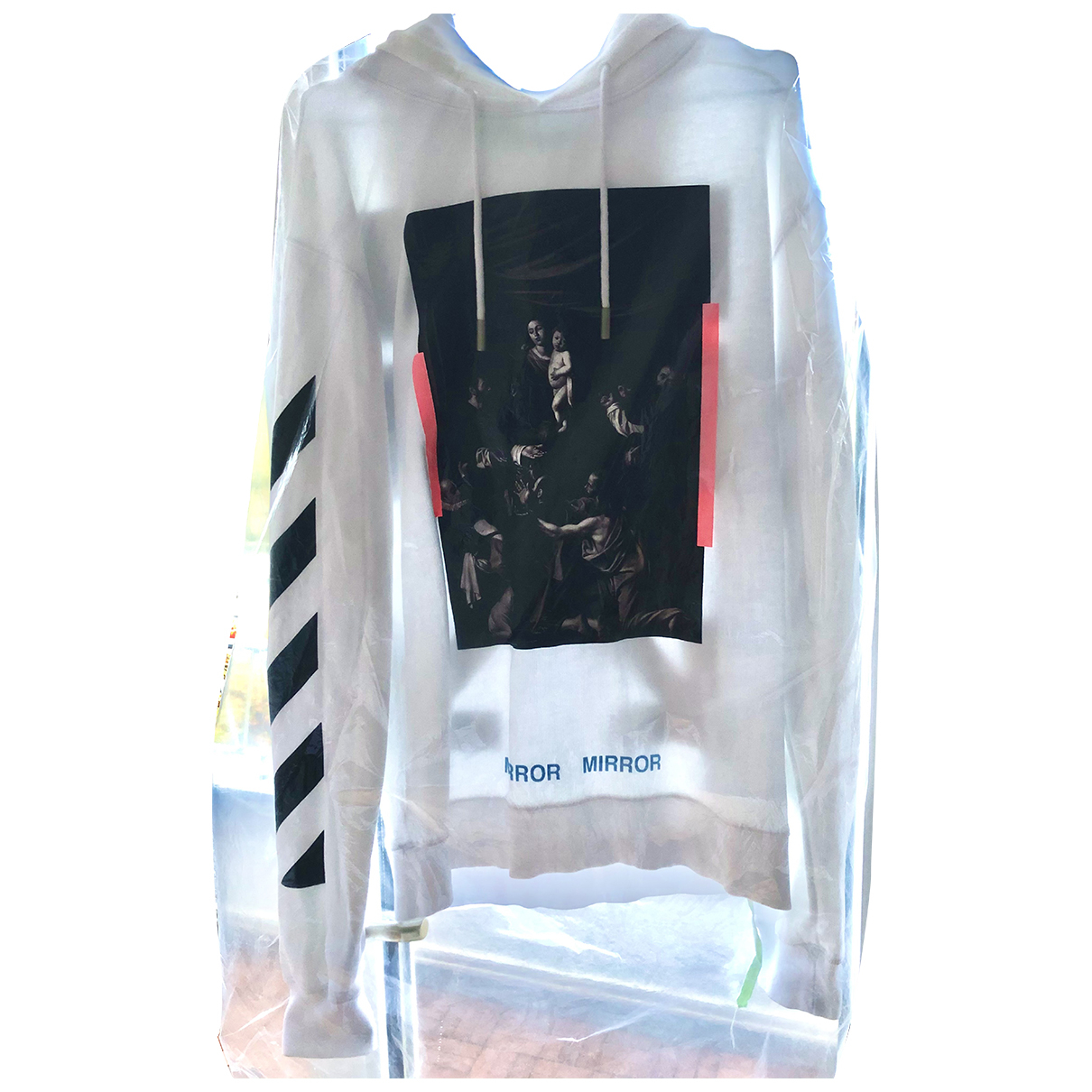 Off-white N White Cotton Knitwear & Sweatshirts for Men M International