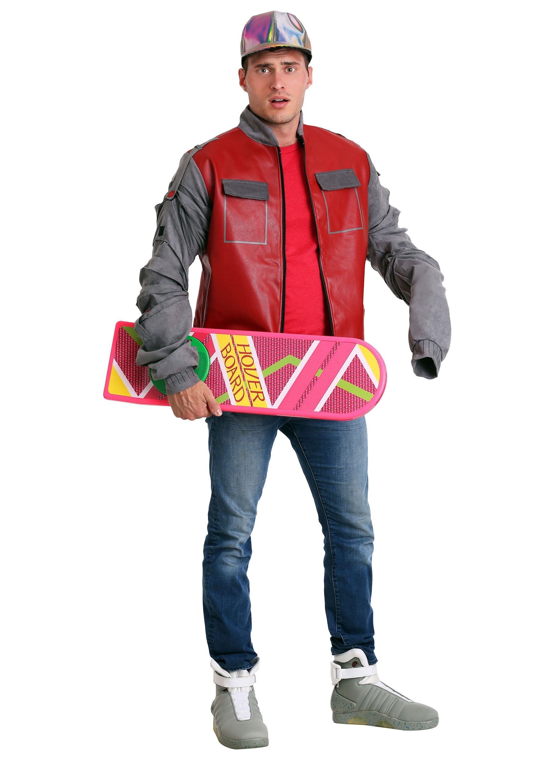 Back to the Future Marty McFly Jacket for Men Costume