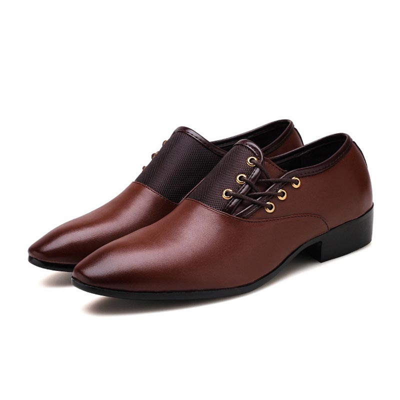 Ericdress Plain Lace-Up Low-Cut Upper Men's Shoes