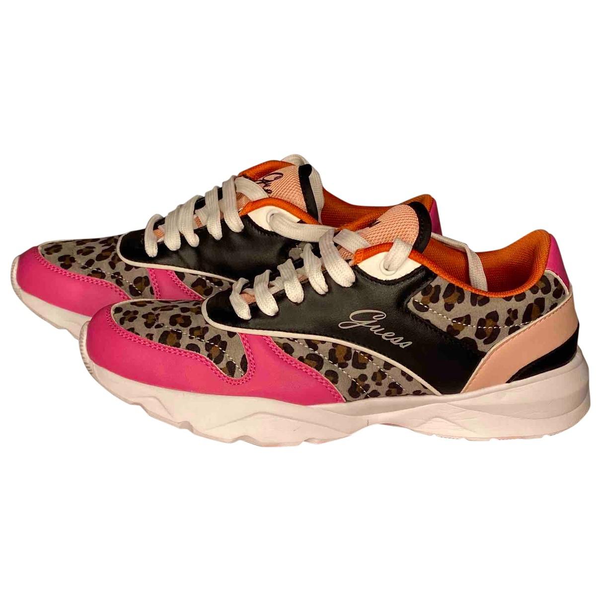 Guess \N Sneakers in  Bunt Leder