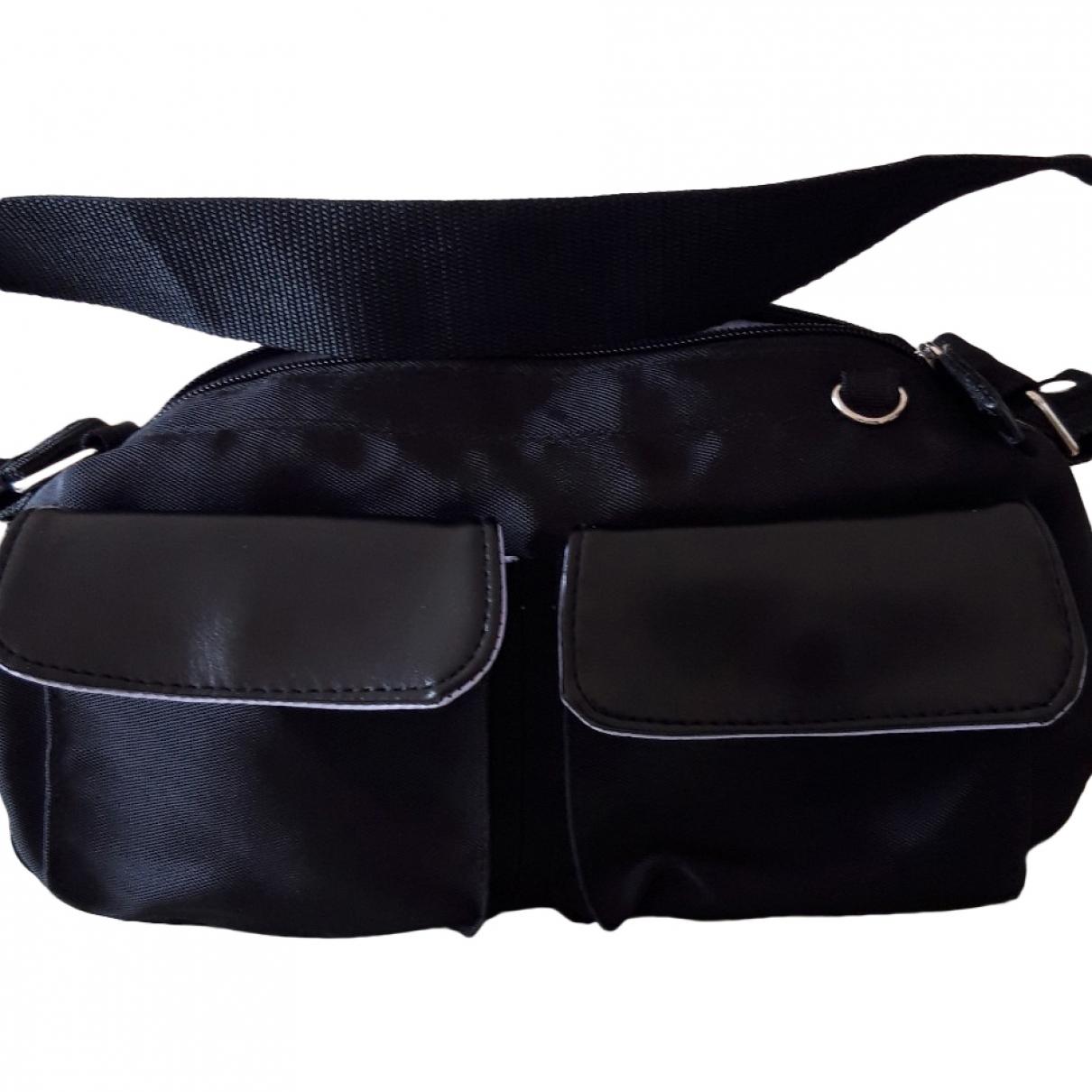 Ted Lapidus \N Handtasche in  Schwarz Leinen