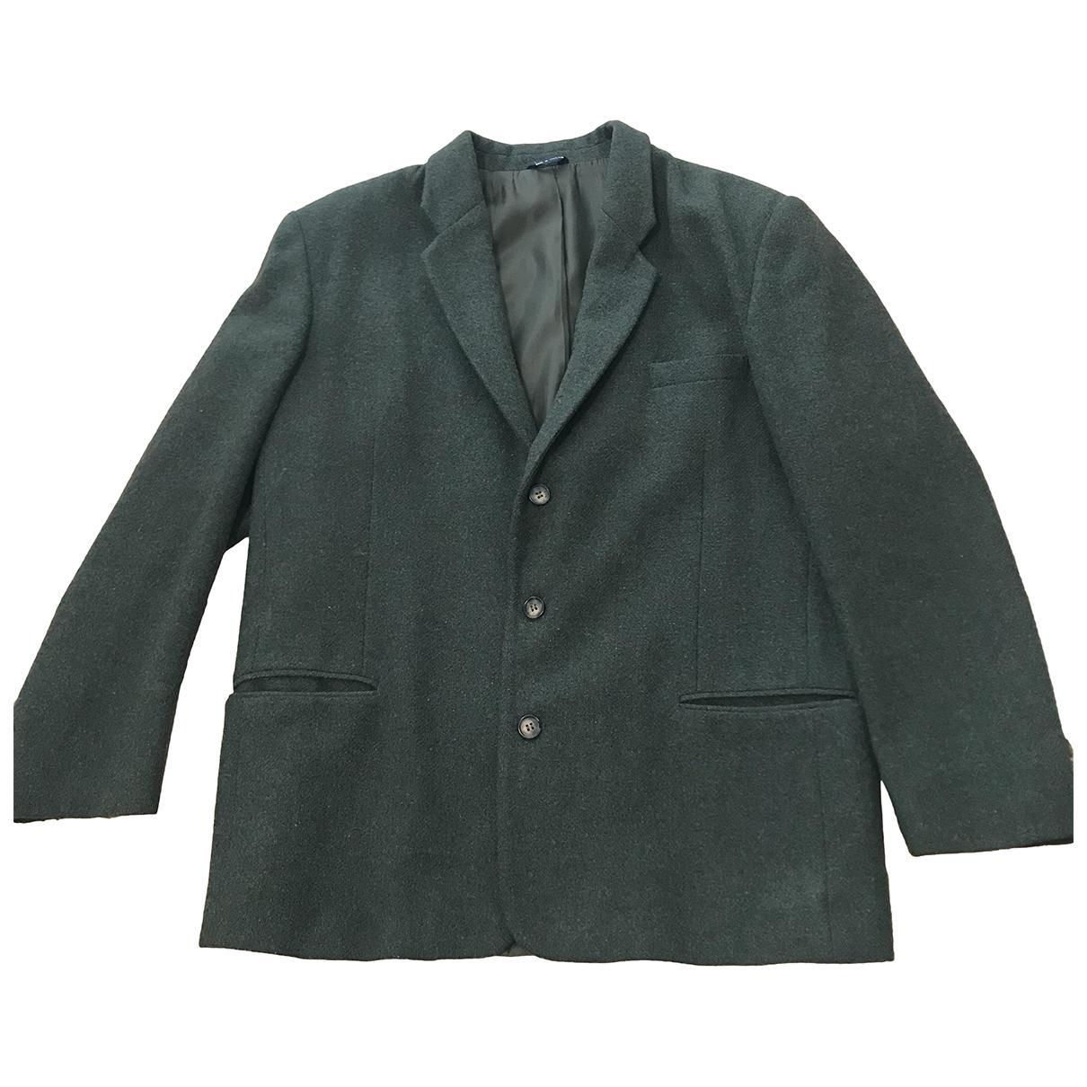 - Vestes.Blousons Epaulettes pour homme en laine - vert