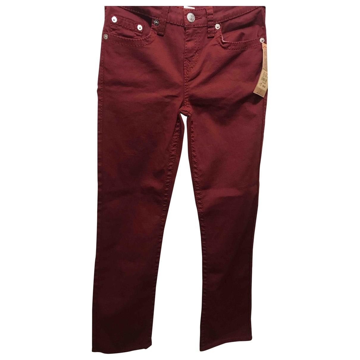 Pantalon recto True Religion