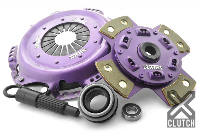 XClutch XKHN20003-1B Clutch Kit Stage 2 Single Sprung Ceramic Clutch Disc Honda CR-X 1988-1991 1.6L 4-Cylinder