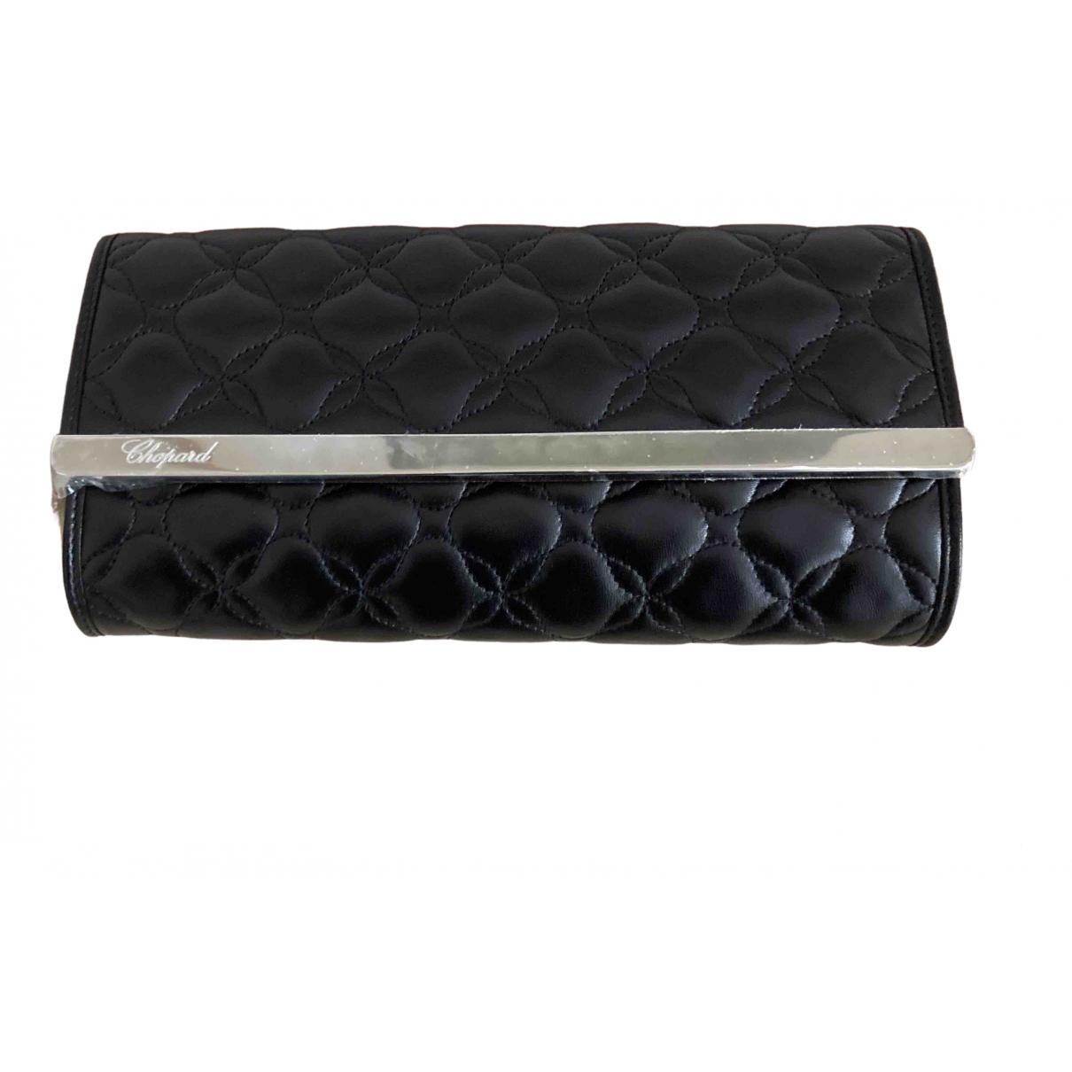 Chopard - Pochette   pour femme en cuir - noir