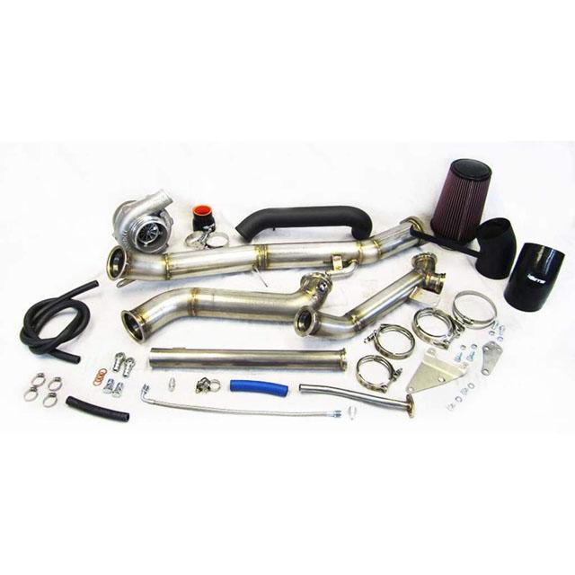 ETS 15-20 Subaru STI Standard Turbo Kit Speed Density 2-bolt GTX3582R Gen 2 Vband