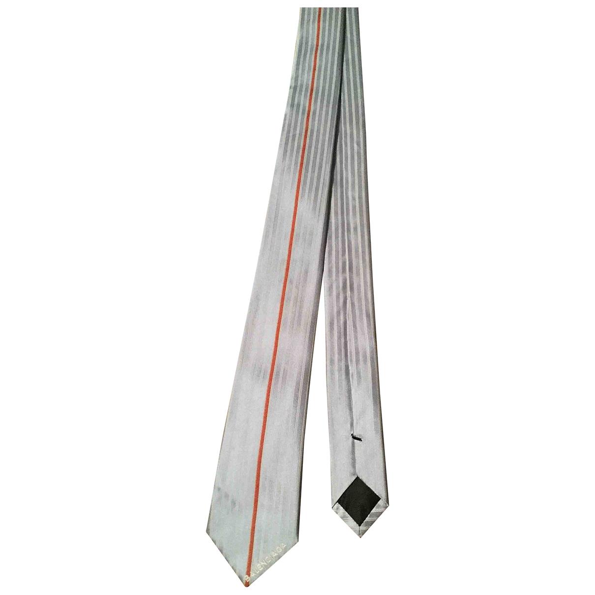 Corbata de Seda Balenciaga