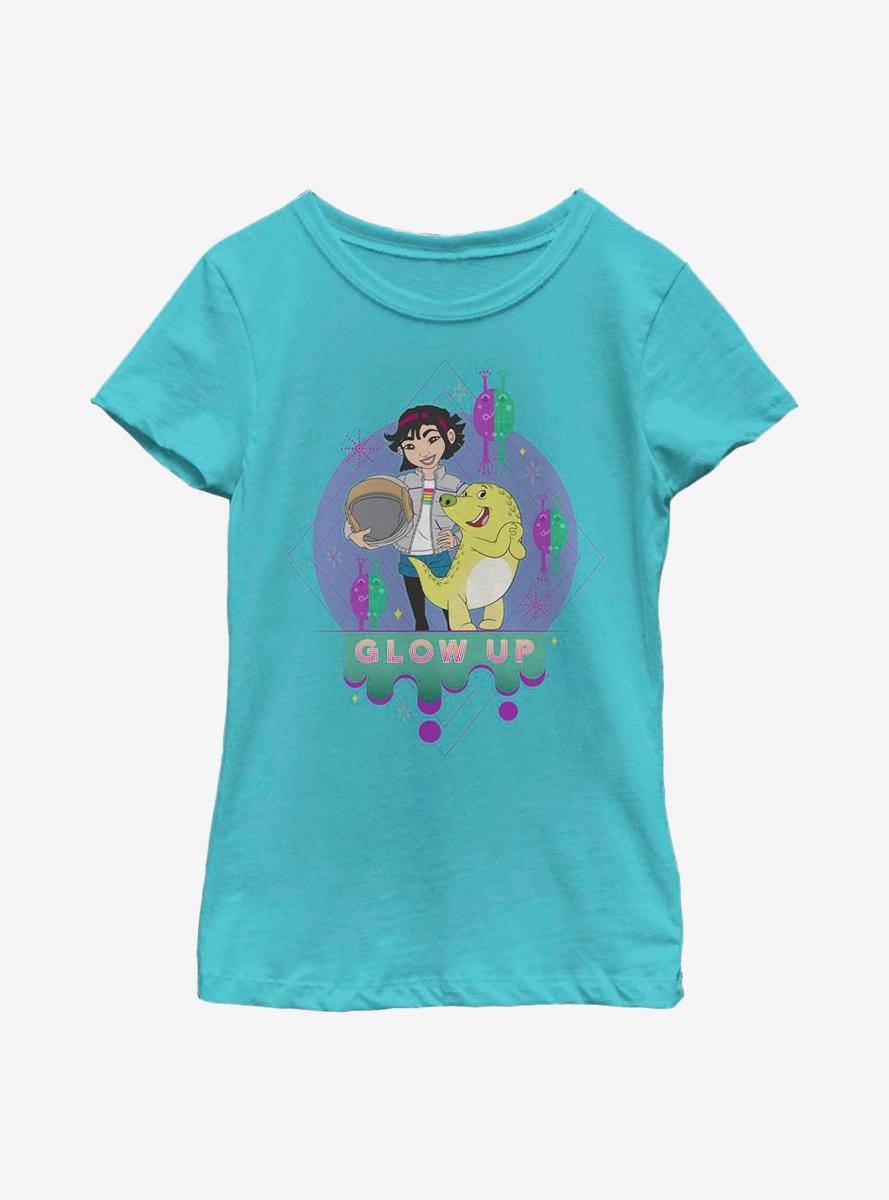 Over The Moon Glow Up Youth Girls T-Shirt
