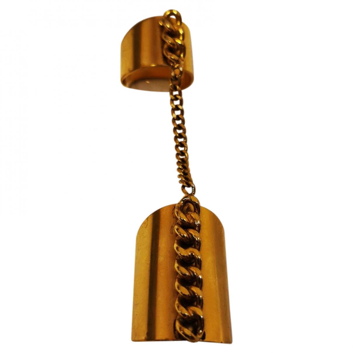 Ela Stone \N Ring in  Gold Metall