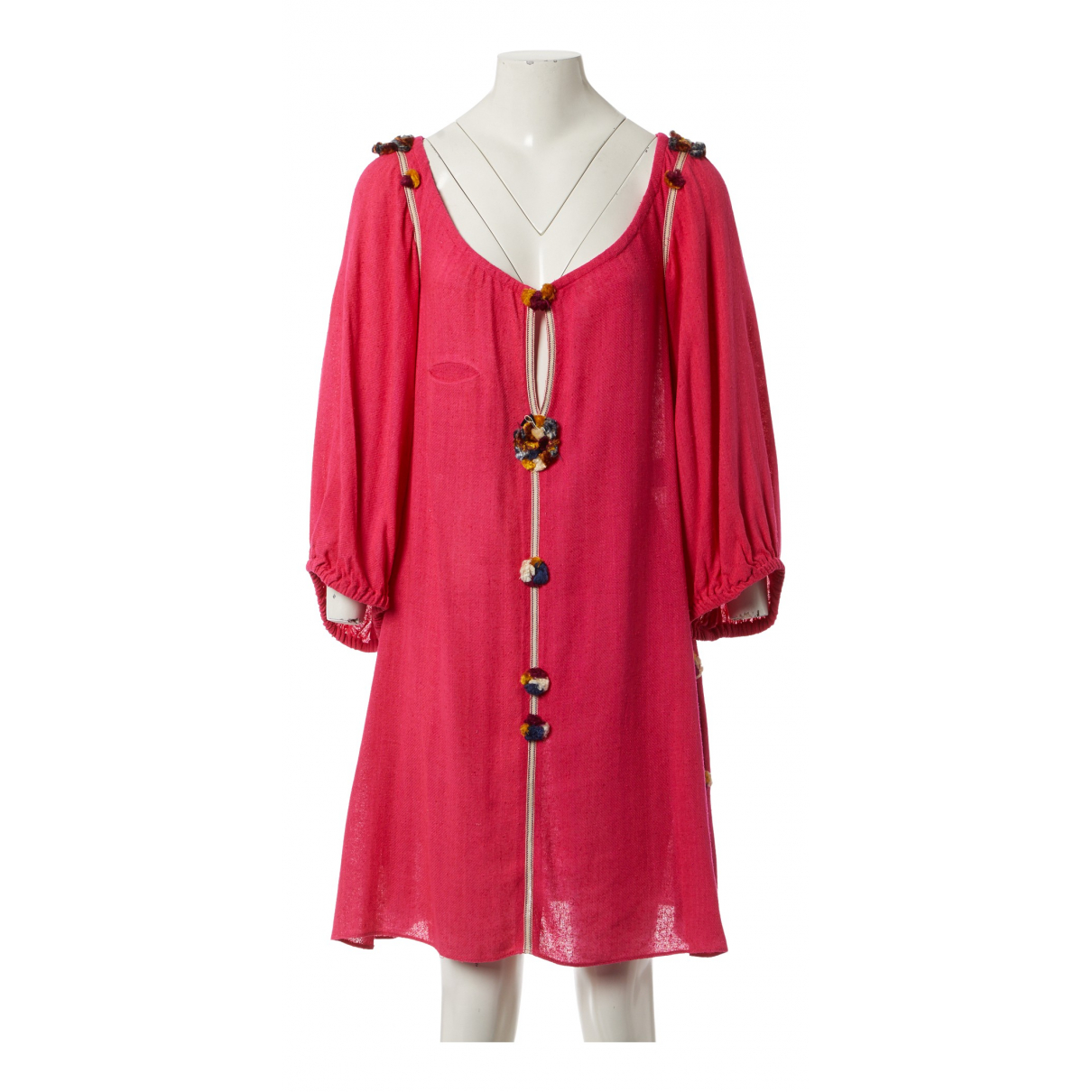 Isabel Marant Etoile \N Kleid in  Rosa Seide