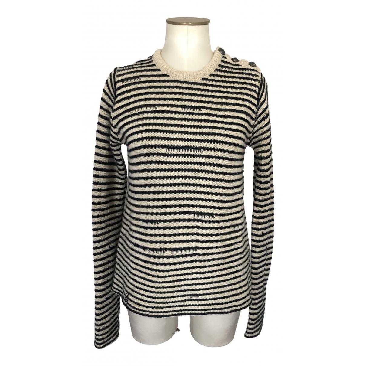 Zadig & Voltaire - Pull   pour femme en laine - marine