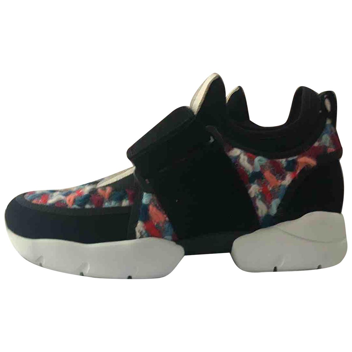 Msgm \N Sneakers in  Bunt Leder