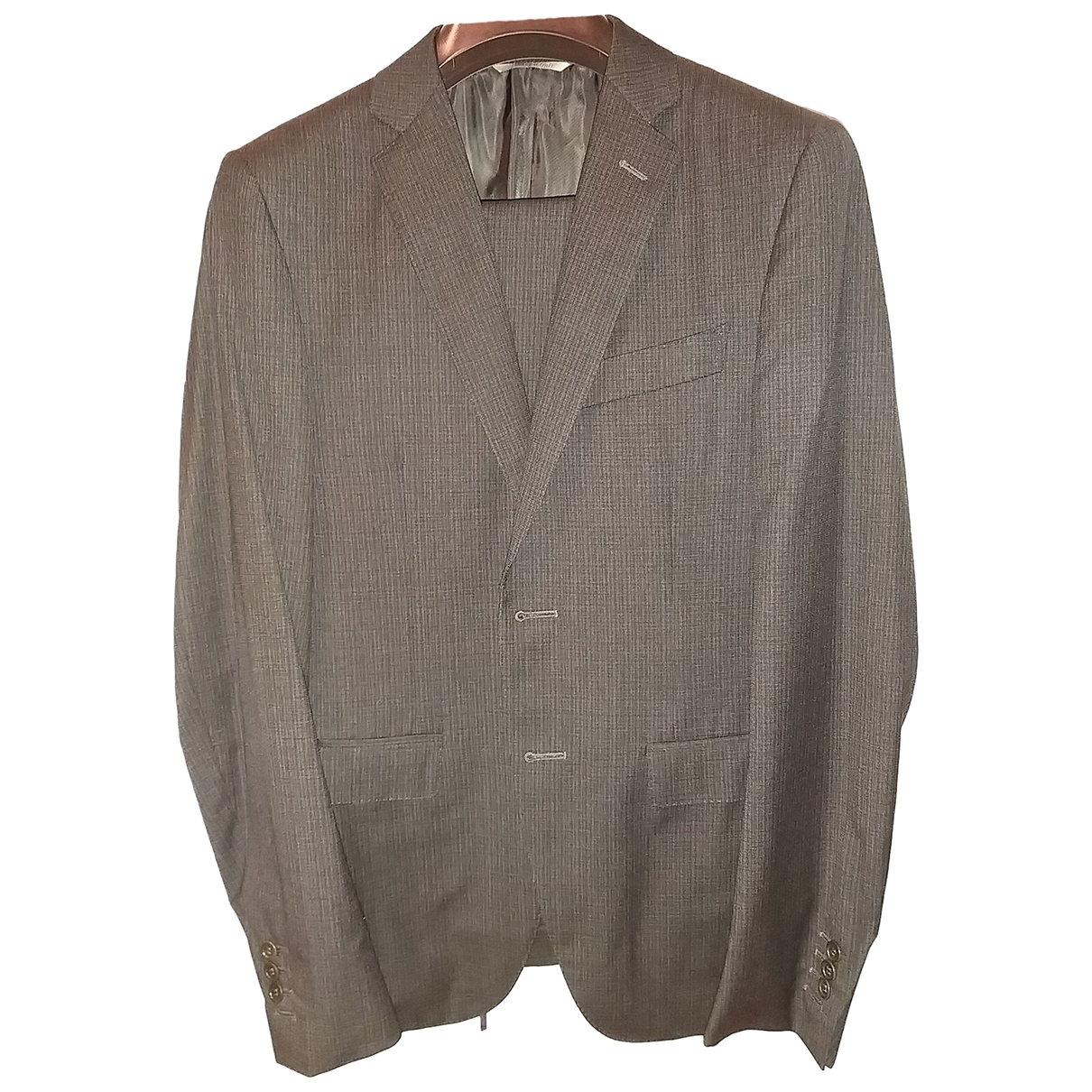 Canali \N Grey Wool Suits for Men M International