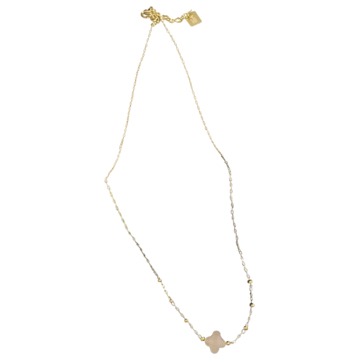 - Collier   pour femme en or et acier - dore