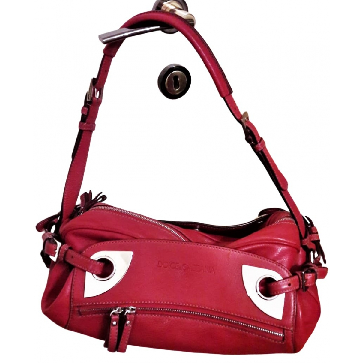 Dolce & Gabbana \N Red Leather handbag for Women \N