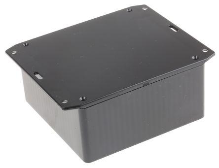 Hammond 1591, Black ABS Enclosure, IP54, Flanged, 120 x 120 x 55mm