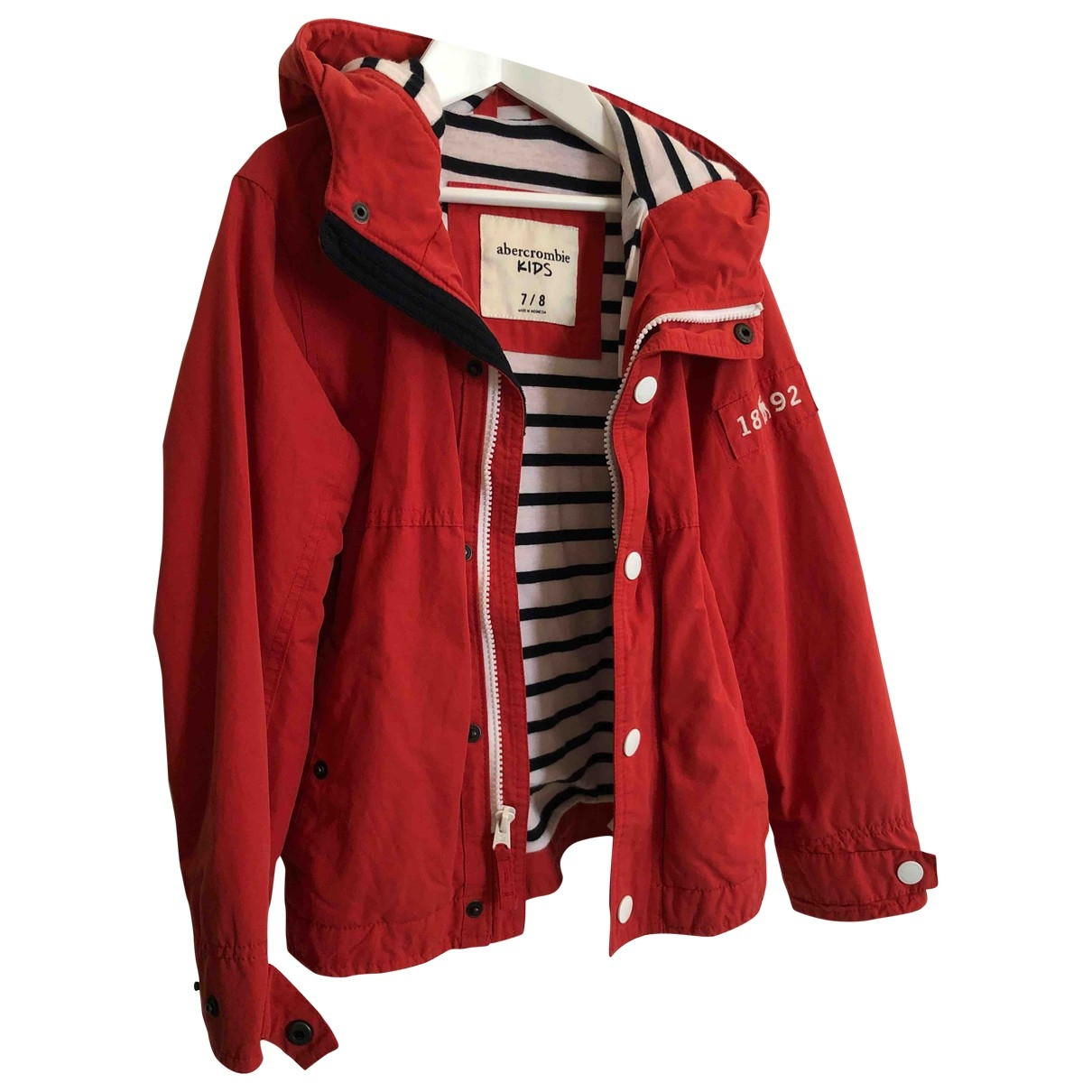 Abercrombie & Fitch \N Red Cotton jacket & coat for Kids 8 years - up to 128cm FR