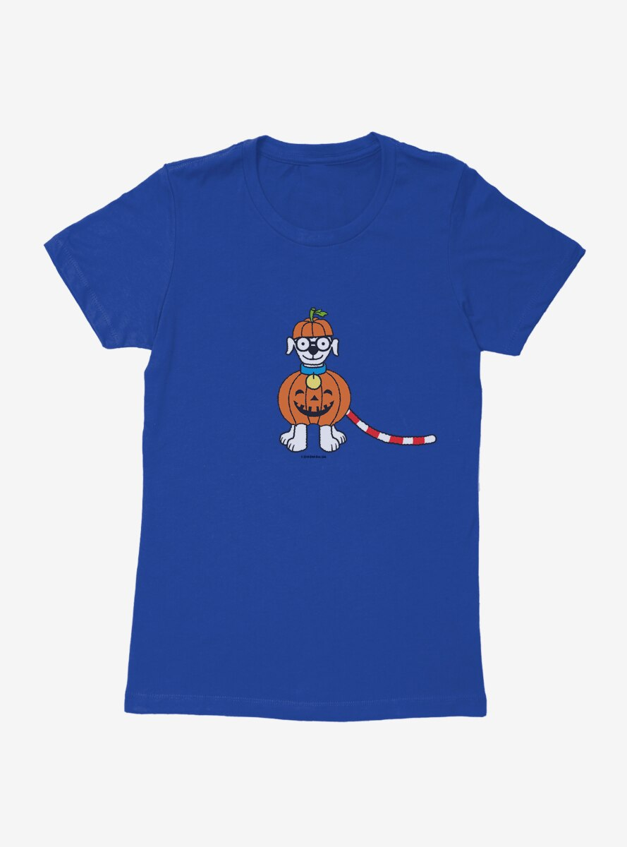 Where's Waldo Pumpkin Woof Womens T-Shirt